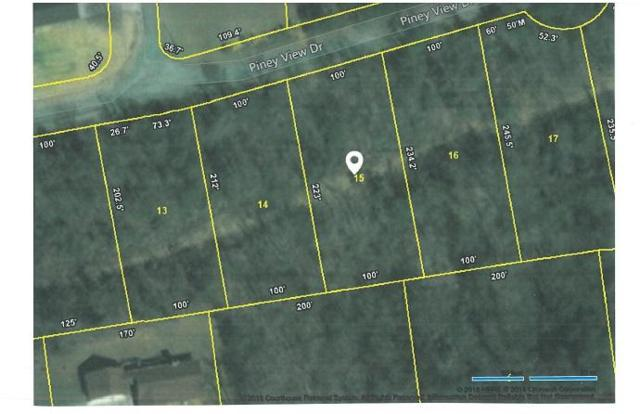 Lot 15 Piney View Drive, Spring City, TN 37381 (#1038883) :: Billy Houston Group