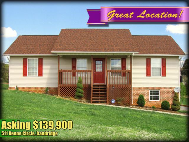511 Keene Circle, Dandridge, TN 37725 (#1056830) :: SMOKY's Real Estate LLC