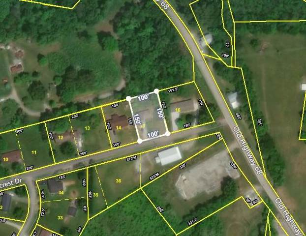 206 Ridgecrest Drive, Madisonville, TN 37354 (#1102321) :: Catrina Foster Group