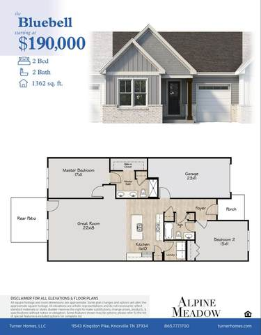 7623 Long Shot Lane, Knoxville, TN 37918 (#1125399) :: Tennessee Elite Realty