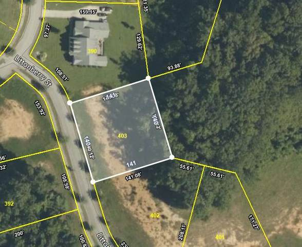 110 Littonberry St Lot 403, Oak Ridge, TN 37830 (#1134303) :: Realty Executives Associates Main Street