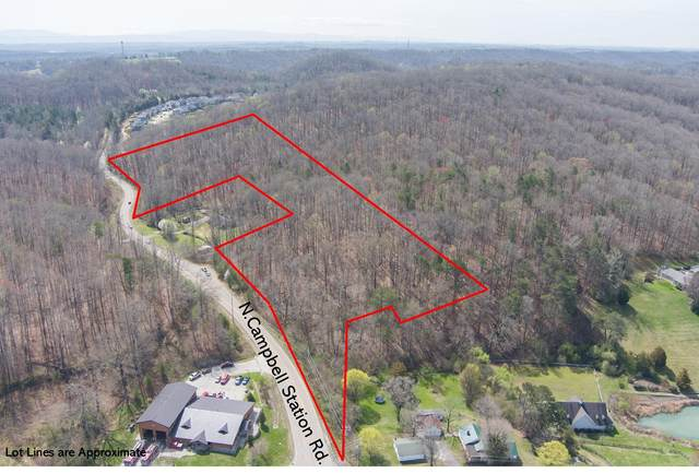 N Campbell Station Rd, Knoxville, TN 37932 (#1146995) :: Billy Houston Group