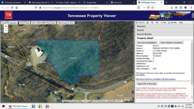 Mecca Pike, Tellico Plains, TN 37385 (MLS #1150046) :: Austin Sizemore Team
