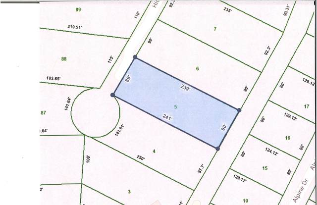 Lot 5 Honeysuckle Lane, Sevierville, TN 37876 (#1151501) :: Billy Houston Group