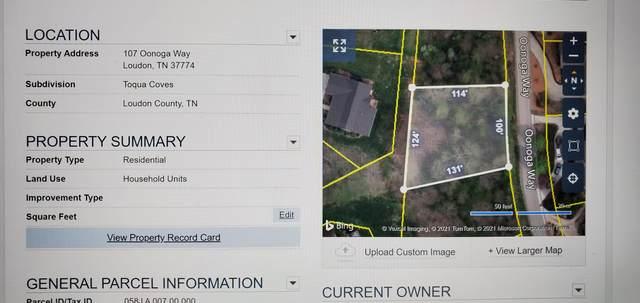 107 Oonoga Way, Loudon, TN 37774 (#1153507) :: JET Real Estate