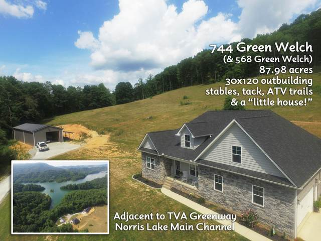 744 Green Welch Rd, Washburn, TN 37888 (MLS #1159908) :: Austin Sizemore Team