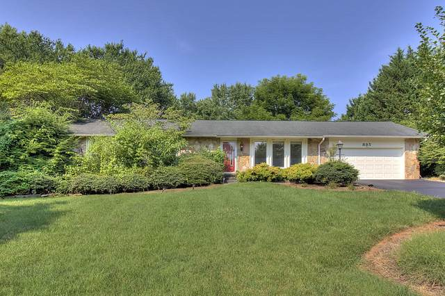 835 Crest Forest Rd, Knoxville, TN 37923 (#1162150) :: Billy Houston Group