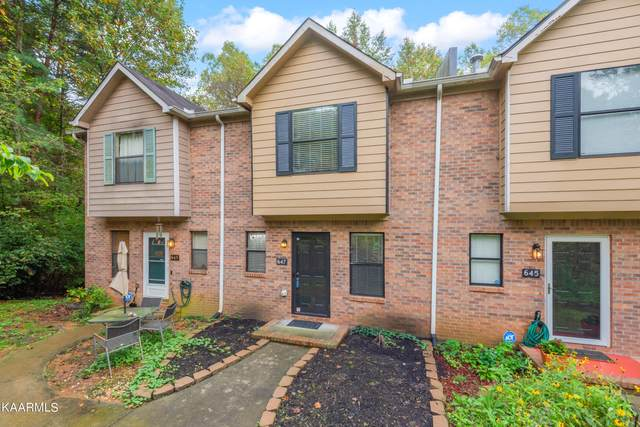647 Shadywood Lane, Knoxville, TN 37923 (#1171461) :: Shannon Foster Boline Group