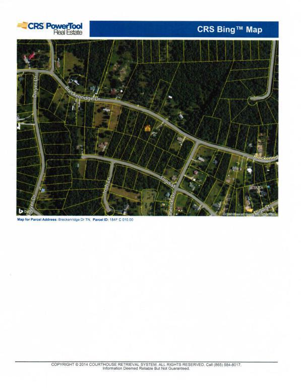 Breckenridge Drive, Crossville, TN 38572 (#1039926) :: Billy Houston Group