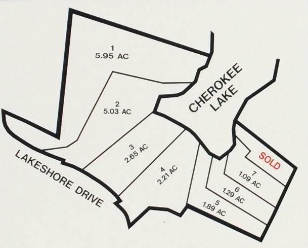 Lot 6 Seven Oaks Drive, Rutledge, TN 37861 (#1116715) :: Tennessee Elite Realty