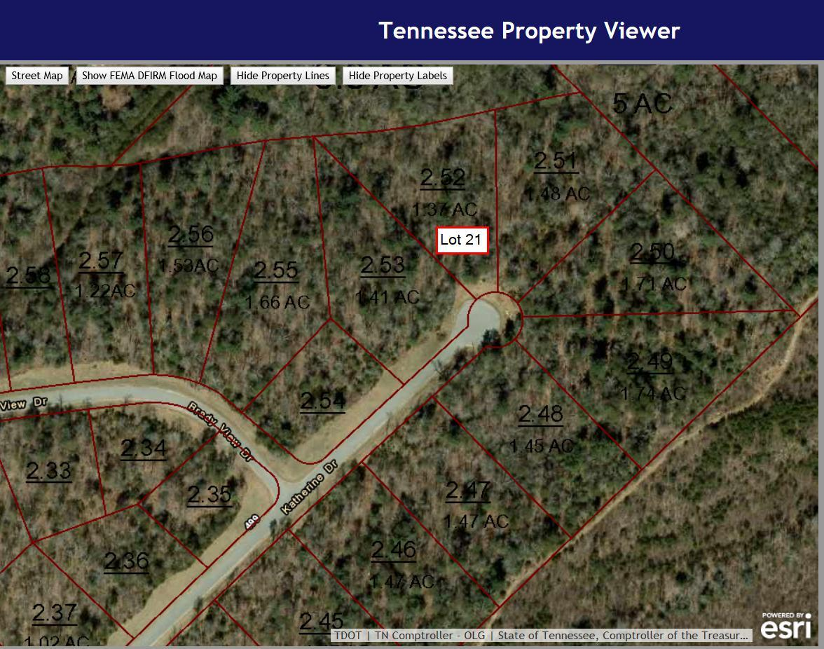 Lot # 21 Katherine Drive, Crossville, TN 38555 (#1018163) :: Tennessee  Elite Realty