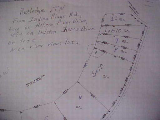 Lot 10 Holston Shores Drive, Rutledge, TN 37861 (#783553) :: Billy Houston Group