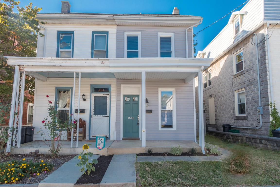 236 Duke Street, Ephrata, PA 17522 (MLS #256606) :: The Craig Hartranft Team, Berkshire Hathaway Homesale Realty