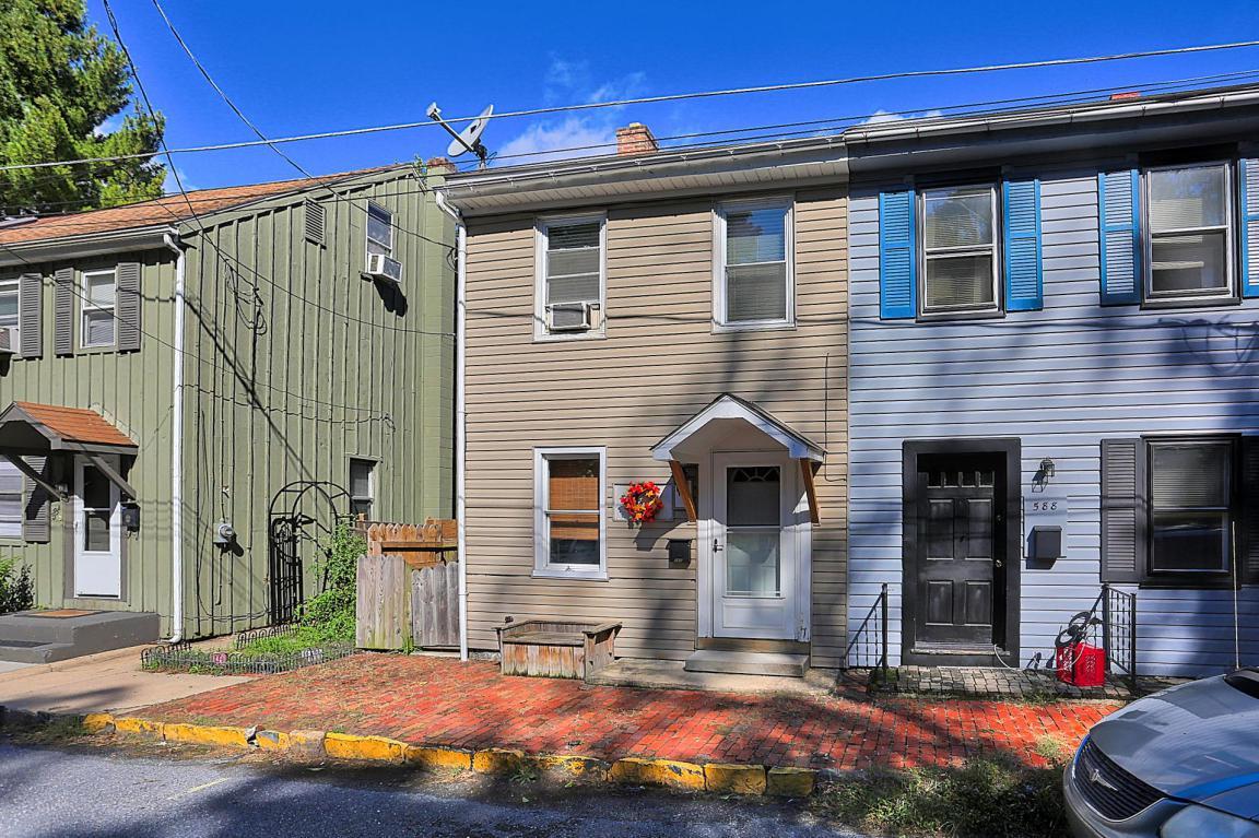 586 E Front Street, Marietta, PA 17547 (MLS #257018) :: The Craig Hartranft Team, Berkshire Hathaway Homesale Realty