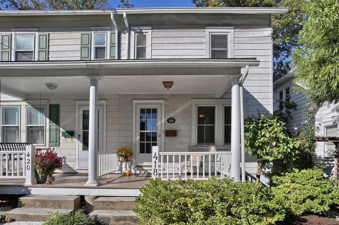 418 S Cedar Street, Lititz, PA 17543 (MLS #257221) :: The Craig Hartranft Team, Berkshire Hathaway Homesale Realty