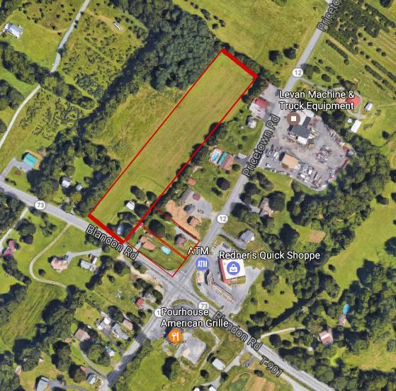 595-597 Blandon Road, Fleetwood, PA 19522 (MLS #266576) :: The Craig Hartranft Team, Berkshire Hathaway Homesale Realty