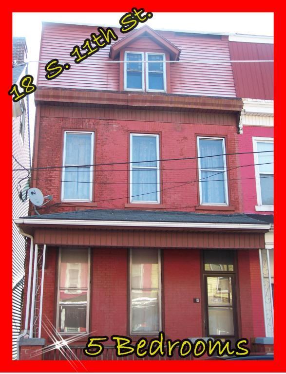 18 S 11TH Street, Lebanon, PA 17042 (MLS #268117) :: The Craig Hartranft Team, Berkshire Hathaway Homesale Realty