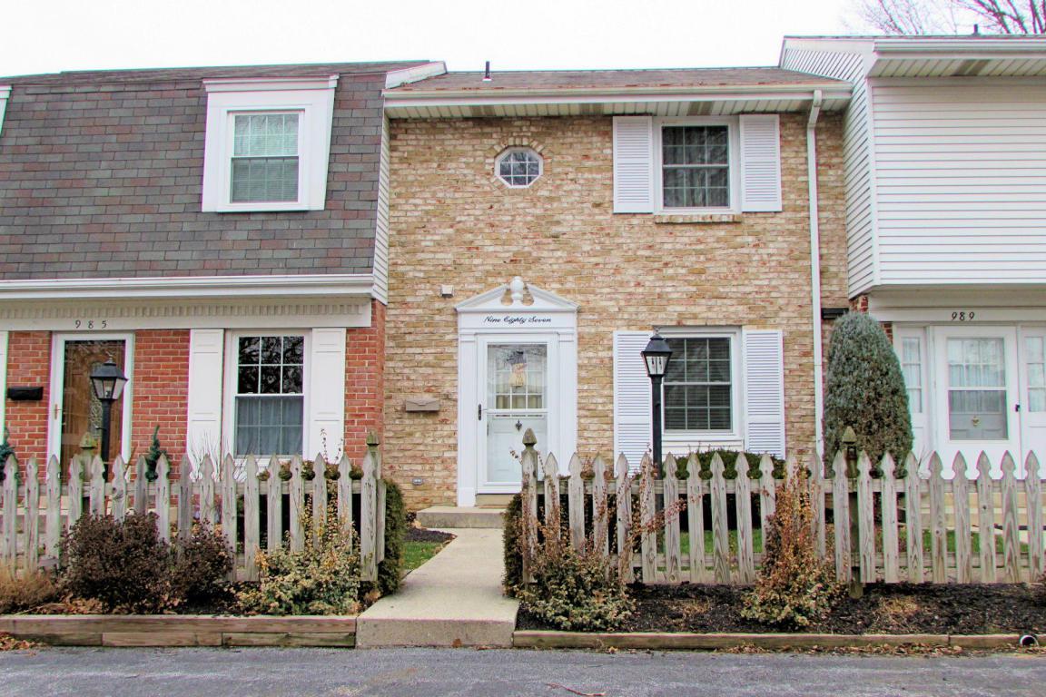 987 E Maple Street, Palmyra, PA 17078 (MLS #254444) :: The Craig Hartranft Team, Berkshire Hathaway Homesale Realty
