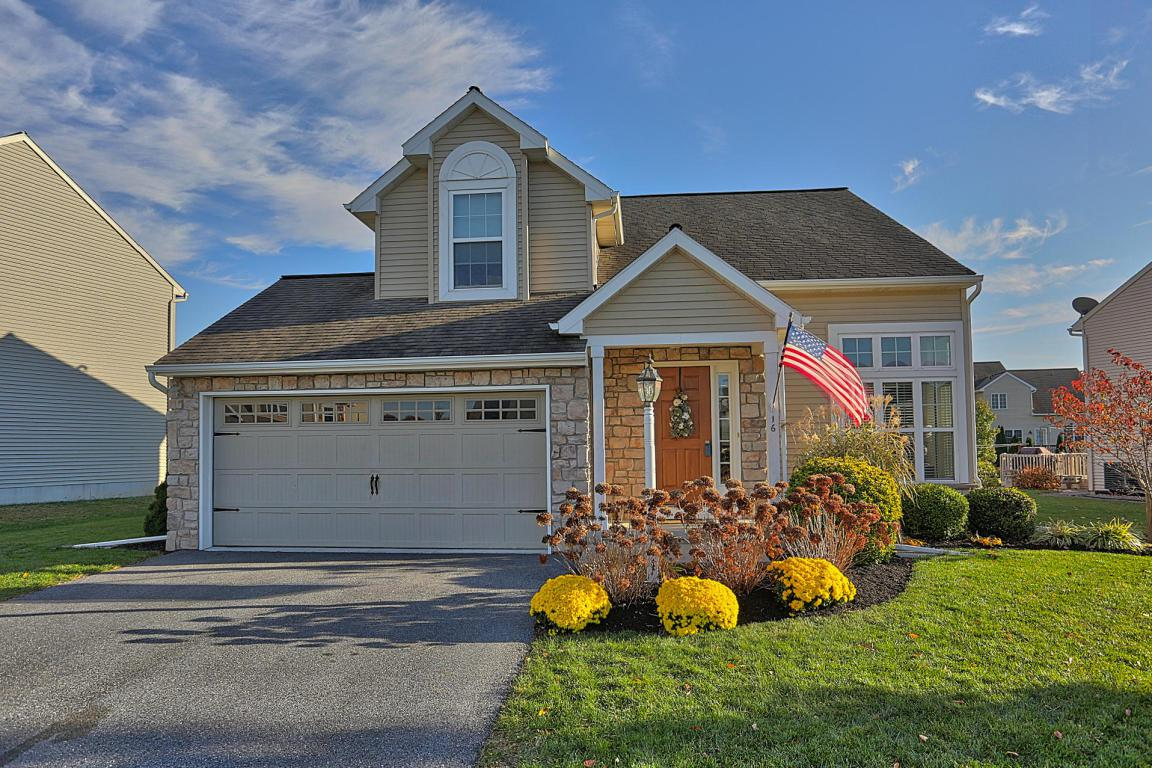 16 Garden Drive, Ephrata, PA 17522 (MLS #258500) :: The Craig Hartranft Team, Berkshire Hathaway Homesale Realty