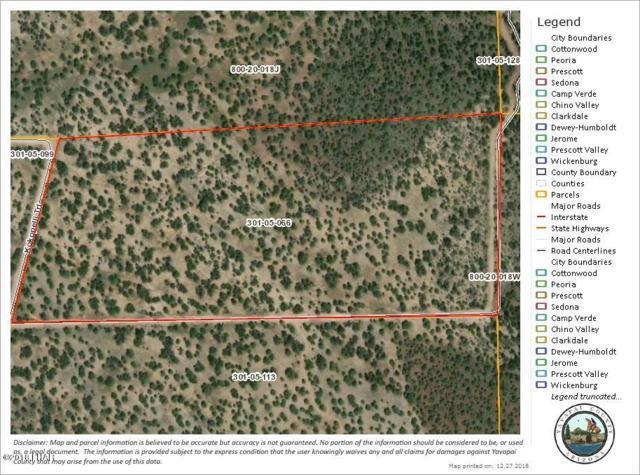 0000 W Double Back Dr., Seligman, AZ 86337 (MLS #1002837) :: The Lander Team