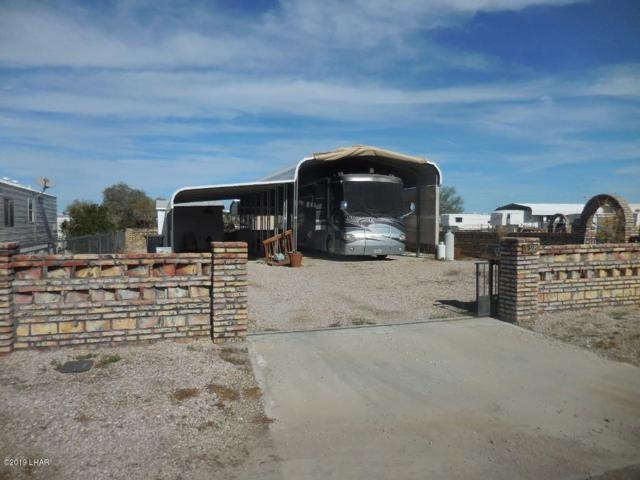 598 Bonanza Dr., Quartzsite, AZ 85346 (MLS #1005203) :: The Lander Team