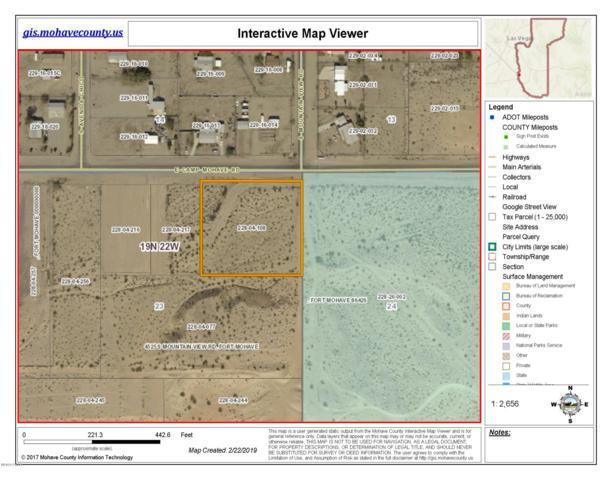 1976 Camp Mohave Rd, Fort Mohave, AZ 86426 (MLS #1006774) :: The Lander Team