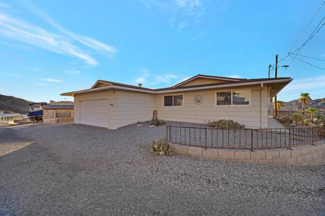 943 Noble View Dr, Parker, AZ 85344 (MLS #1007641) :: The Lander Team