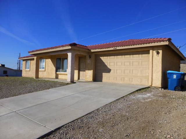 2245 Havasupai Blvd, Lake Havasu City, AZ 86403 (MLS #1009534) :: The Lander Team