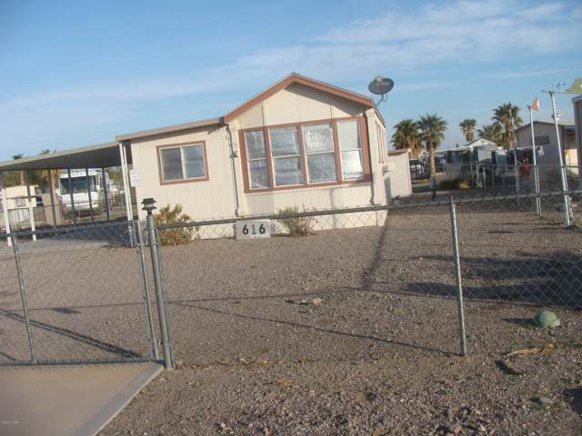 616 W Falcon Dr, Quartzsite, AZ 85346 (MLS #1009698) :: Realty One Group, Mountain Desert