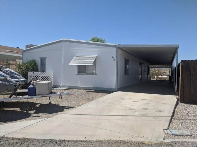 496 Bluewater Dr, Parker, AZ 85344 (MLS #1011824) :: The Lander Team