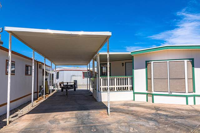 601 Beachcomber Blvd #384, Lake Havasu City, AZ 86403 (MLS #1011871) :: The Lander Team