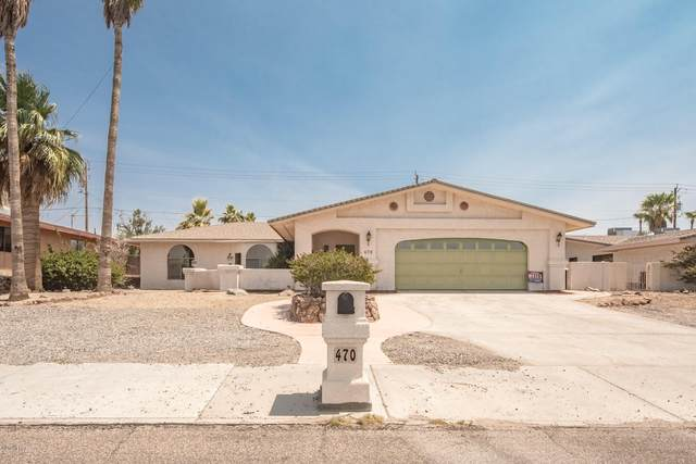 470 Acoma Blvd N, Lake Havasu City, AZ 86403 (MLS #1012241) :: Realty One Group, Mountain Desert