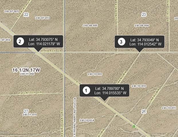 3454 Alamo Rd, Yucca, AZ 86438 (MLS #1012442) :: Realty One Group, Mountain Desert