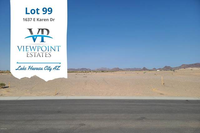1637 E Karen Dr, Lake Havasu City, AZ 86404 (MLS #1013465) :: Realty One Group, Mountain Desert