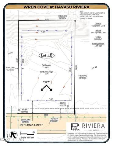 2415 Dry Creek Ct, Lake Havasu City, AZ 86406 (MLS #1014476) :: Coldwell Banker