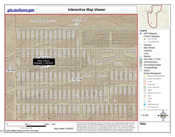 Unk W Madison St, Yucca, AZ 86438 (MLS #1014570) :: Realty One Group, Mountain Desert