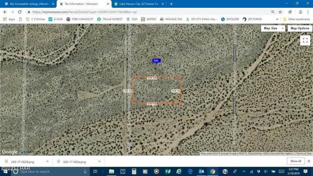 O S Roll Rd, Yucca, AZ 86438 (MLS #1014838) :: Realty One Group, Mountain Desert