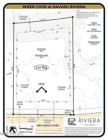 2427 Dry Creek Ct, Lake Havasu City, AZ 86406 (MLS #1016063) :: Lake Havasu City Properties