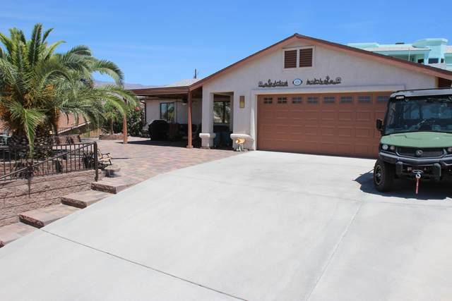 420 Hound Dr, Lake Havasu City, AZ 86404 (MLS #1016201) :: The Lander Team