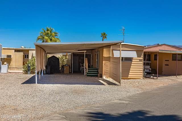 601 Beachcomber Blvd #366, Lake Havasu City, AZ 86403 (MLS #1016285) :: Realty ONE Group