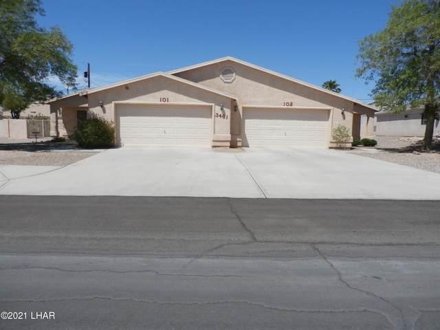 3461 Kearsage Dr 101-102, Lake Havasu City, AZ 86406 (MLS #1016304) :: Realty ONE Group
