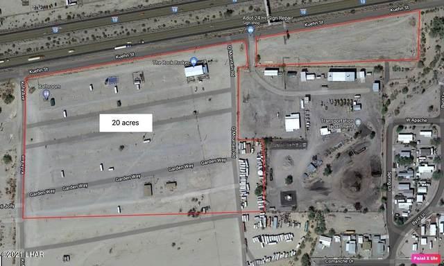 1055 W Kuehn St, Quartzsite, AZ 85346 (MLS #1016942) :: Local Realty Experts