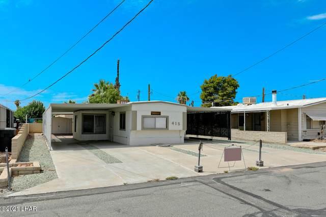 415 E Riverfront Dr, Parker, AZ 85344 (MLS #1017177) :: Realty One Group, Mountain Desert