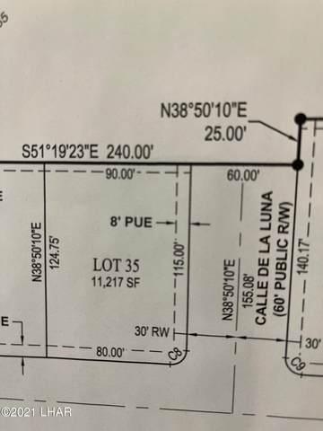 6335 Avienda De Las Colinas, Lake Havasu City, AZ 86406 (MLS #1017353) :: The Lander Team