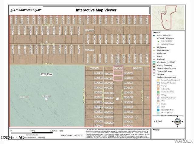 5981 N Cordie Dr, Kingman, AZ 86401 (MLS #1017632) :: Realty One Group, Mountain Desert