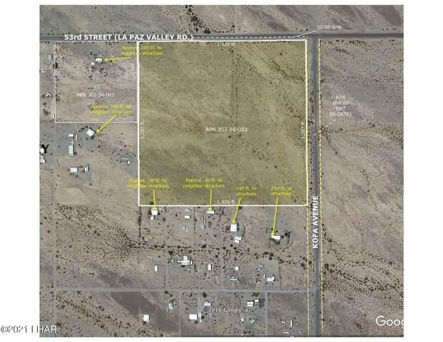 29884 53rd St, Quartzsite, AZ 85346 (MLS #1017675) :: The Lander Team