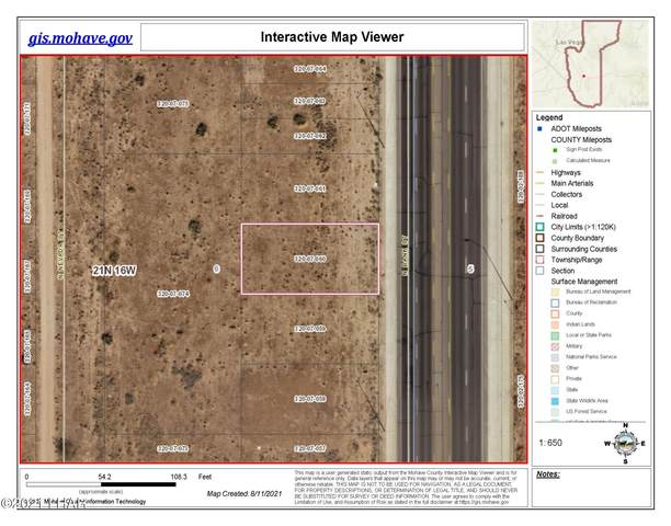 60 N Bank St, Kingman, AZ 86401 (MLS #1017709) :: Realty One Group, Mountain Desert