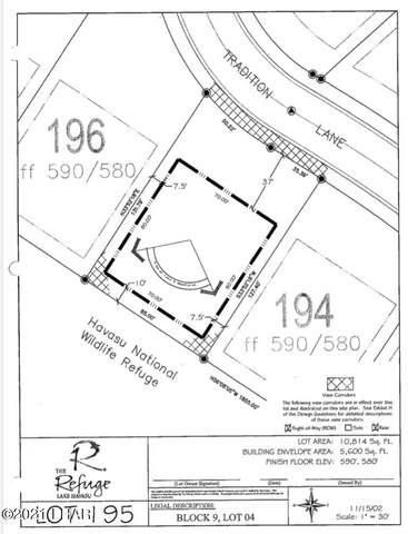 1748 E Tradition Ln, Lake Havasu City, AZ 86404 (MLS #1017713) :: Coldwell Banker