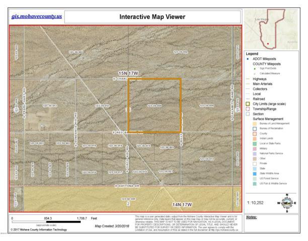 N/A E Red Barrel Rd, Yucca, AZ 86438 (MLS #1000759) :: The Lander Team