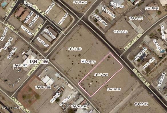 3552 Kearsage Dr, Lake Havasu City, AZ 86406 (MLS #1018731) :: The Lander Team